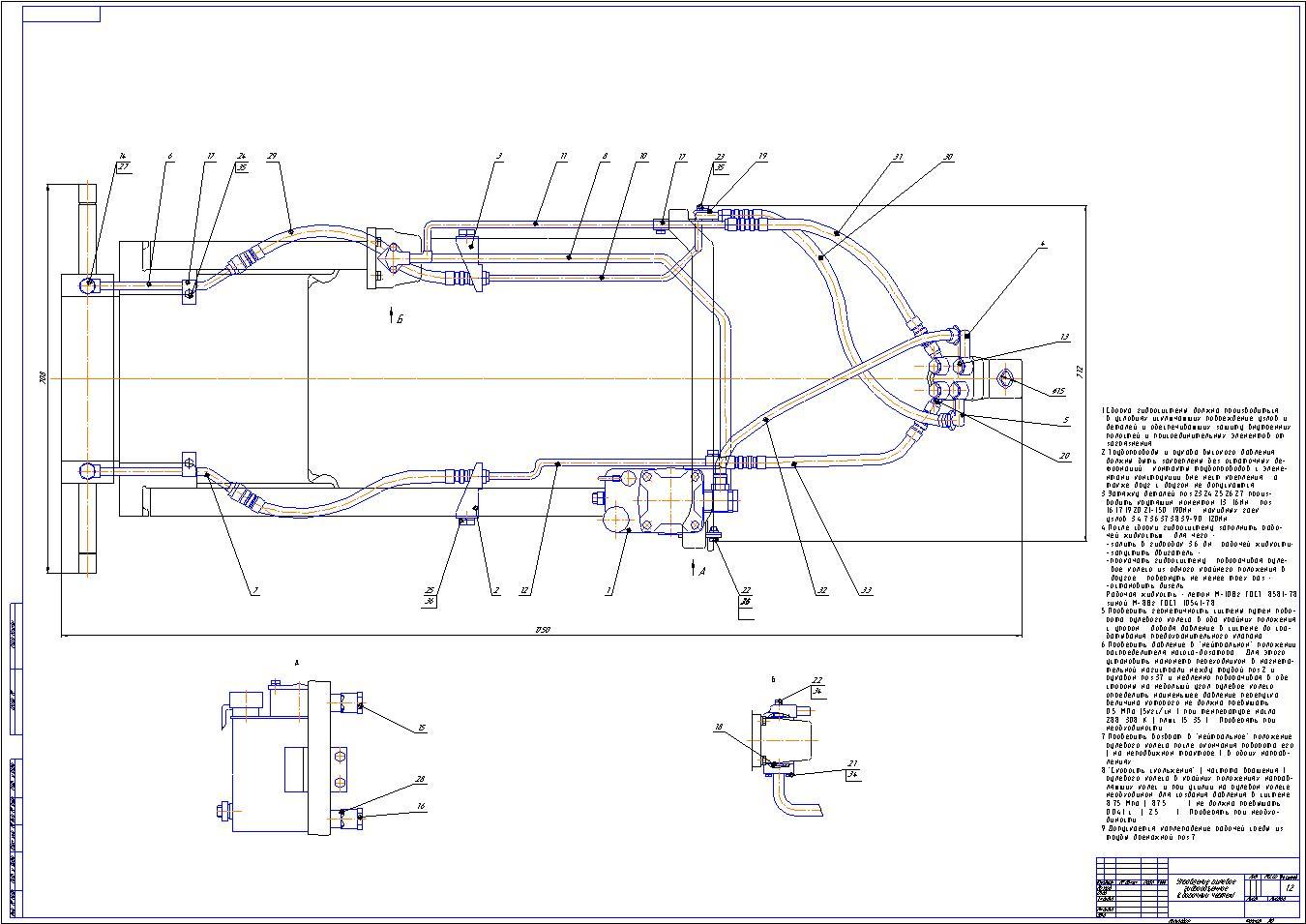 Управление рулевое гидрообъемное