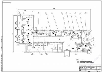 Планировка производственного участка для литья в землю