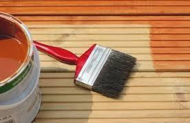 как покрасить древесину