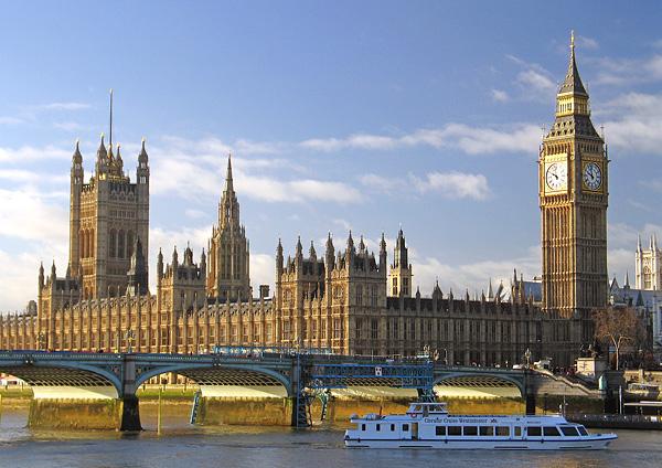 Туризм и отдых в Англии
