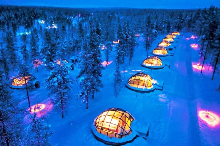 Иглу-курорт в Финляндии