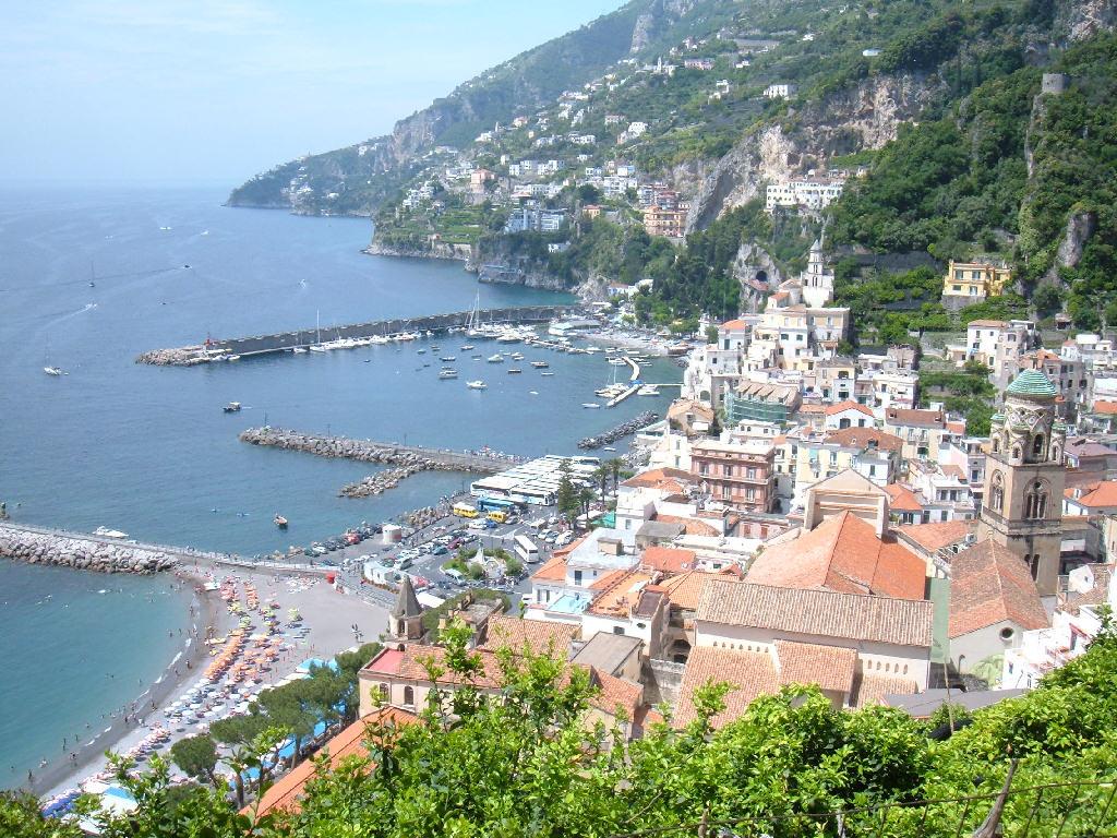 Незабываемый итальянский курорт Амальфи