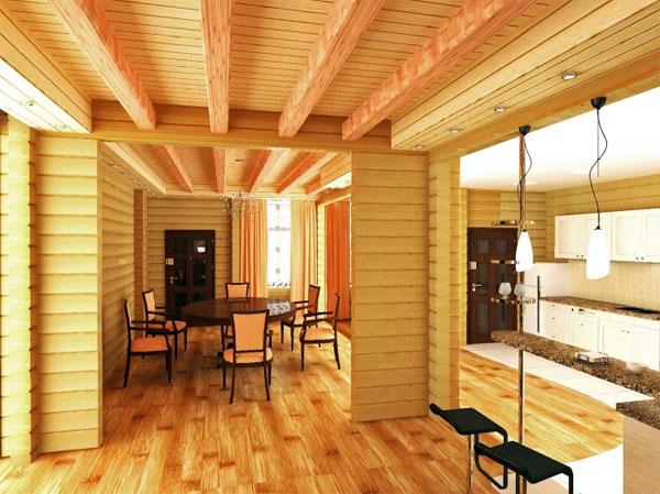 Отчего деревянные дома из клееного бруса можно назвать уникальными?