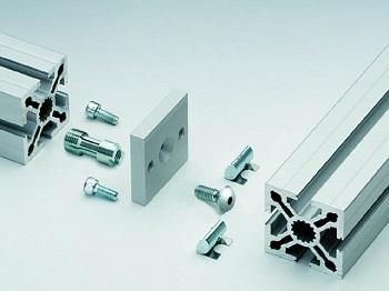 Алюминиевый конструкционный станочный профиль