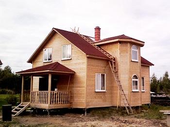 срубы домов из бруса недорого