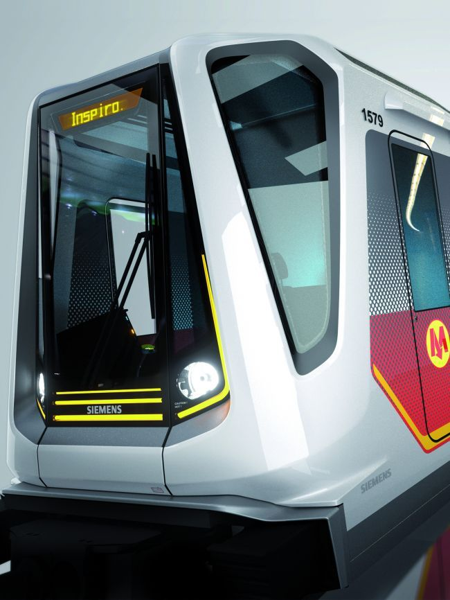 Siemens AG вагоны метро