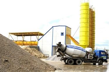 Производство бетона на мини-заводе
