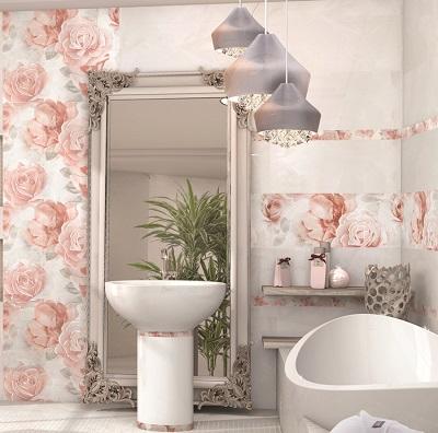 Керамическая плитка для ванной панно