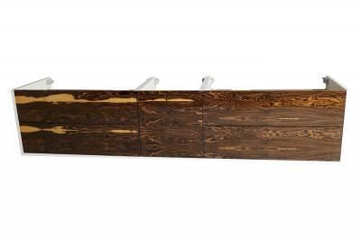 тумба под раковину с покрытием шпон натуральный