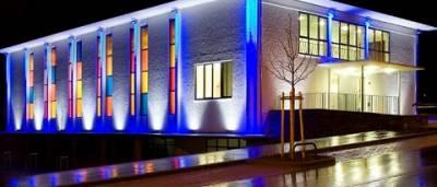 Особенности художественного освещения зданий