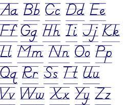 Учим английский алфавит