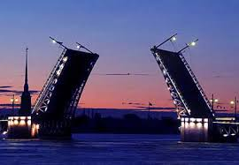 Развод мостов Санкт-Петербург