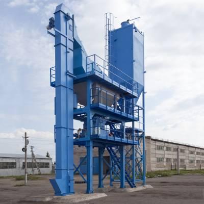 асфальтобетонный завод производительностью 80 т/ч