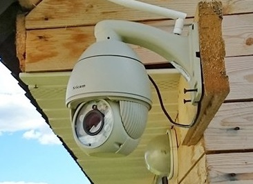 Видеонаблюдение за частным домом