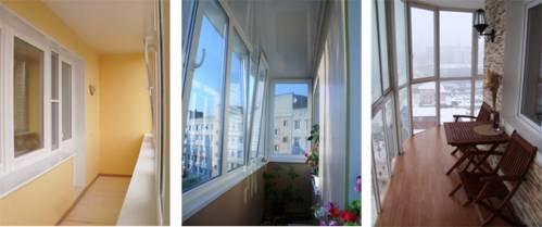 пвх остекление балконов