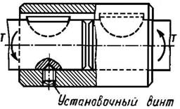 втулочная муфта со штифтами